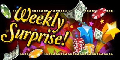weekly online casino bonus
